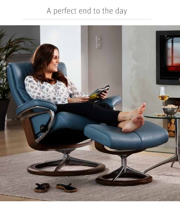 Choose your Comfort; Choose your Stressless Recliner at Unwind.