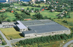 Ekornes Factory Mobler AS department Hareid which manufactures sofas and loveseats for Ekornes