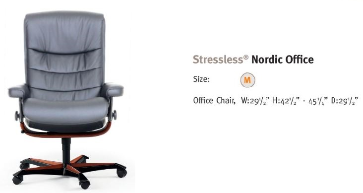 Nordic Office- Ekornes' latest contribution to comfort.
