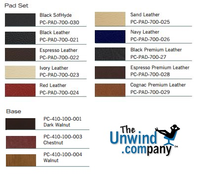 Human Touch Perfect Chair Color and Upholstery Options