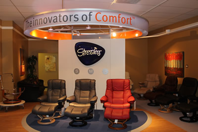 Stressless Furniture Display in Memphis TN