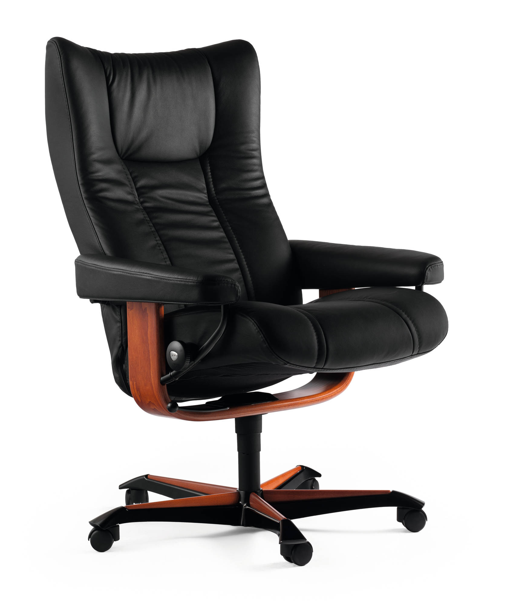 Stressless Wing matches Ekornes Eagle.