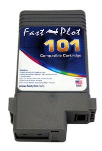 Ink Tank replace  PFI-101 for Canon printers, color:  Yellow