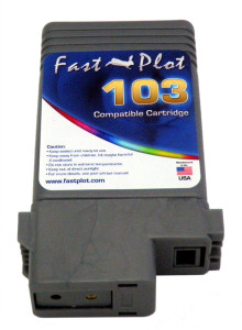 Ink Tank replace  PFI-103 for Canon printers, color:  Gray
