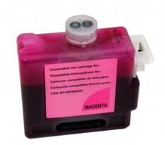 Ink tank for Canon BCI-1421 W8400, W8200, color:  Magenta