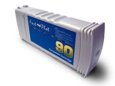 FastPlot Re manufactured Ink Cartridge Replacement for HP 90  Black