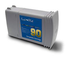 Inkjet cartridge remanufactured for  HP 90  Magenta