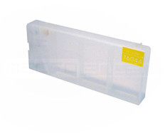 FastPlot Refillable Ink Cartridge Replacement for Epson 7880 / 9880 Replaces T6034 Yellow