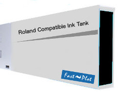 FastPlot Compatible Ink Cartridge Replacement for Roland Solvent Printers - Black 220ml
