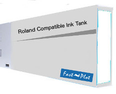 FastPlot Compatible Ink Cartridge Replacement for Roland Solvent Printers - Clean Solution 220ml