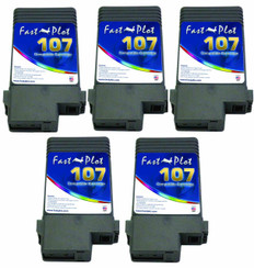 Set of 5 Ink tank 107 for Canon 680, 685, 780 , 785