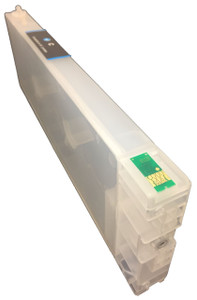FastPlot Refillable Ink Cartridge Replacement for  Epson 4900  Cyan