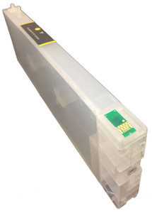 FastPlot Refillable Ink Cartridge Replacement for  Epson 4900  Yellow
