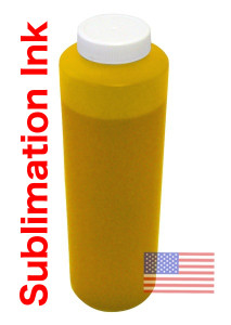 FastPlot Sublimation Ink, Yellow made in the USA