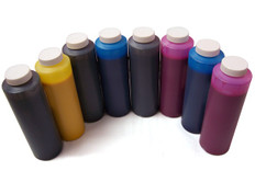 Set of 6 Dye Ink Bottles for Epson 7600 / 9600