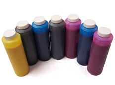 Set of 7 bottles 454ml of Ink for use in Epson 7600, 9600,, Photo Black made in the USA