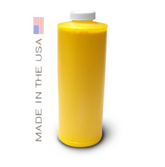 Bottle 1000ml of Dye Ink for use in HP DesignJet 1050 Yellow made in the USA