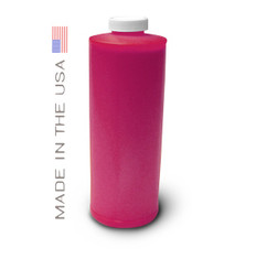 Bottle 1000ml of Dye Ink for use in HP DesignJet 1050 Magenta made in the USA