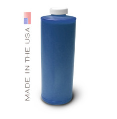 Bottle 1000ml of Dye Ink for use in HP DesignJet 800 Cyan made in the USA