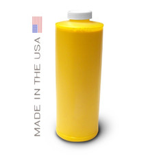 Bottle 1000ml of Eco Solvent Ink for use in Mimaki printers Yellow made in the USA