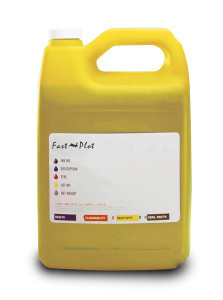 Gallon 3785ml of Eco Solvent Ink for use in Roland printers Gray made in the USA