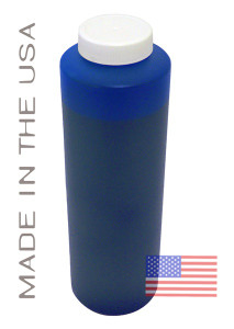 Bottle 454ml of Pigment ink for use in Epson R1800 printer Blue made in the USA