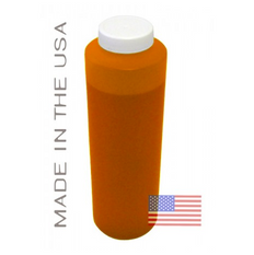 Bottle 454ml of Pigment ink for use in Epson R1900 printer Orange made in the USA