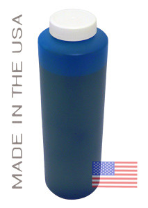 Bottle 454ml of Pigment ink for use in Epson R2400 printer Cyan made in the USA