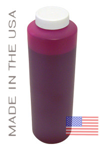 Bottle 454ml of Pigment ink for use in Epson R2400 printer Magenta made in the USA