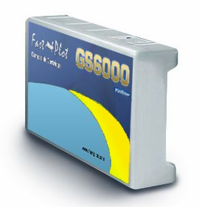 Ink tank replacement for  Epson GS6000 - Yellow 950ml