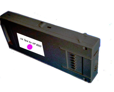 Ink Tank for HP 8000 color Magenta 500ml (SOLC-HP-8000-M)