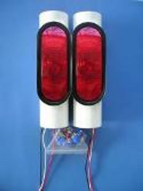 Pair Standard Pipe Lights [ Plain Bulb]