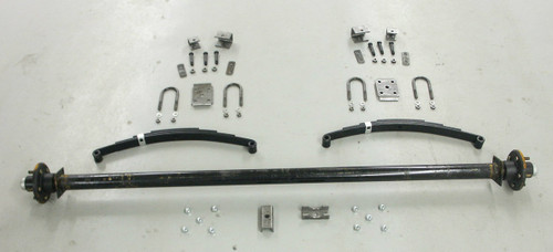 "73"" 3500# Single  Axle Undercarriage  Kit"