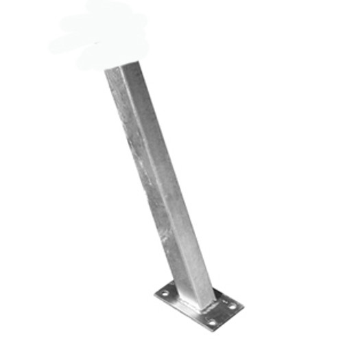 3x3 Galvanized Winch Post