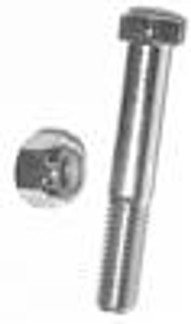 GRADE 5 ZINC PLATED HEX HEAD BOLT WITH LOCK NUT