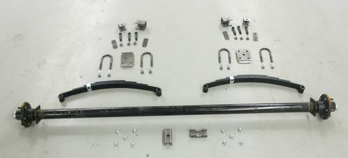 "89"" 6000# Single  Axle Undercarriage  Kit"