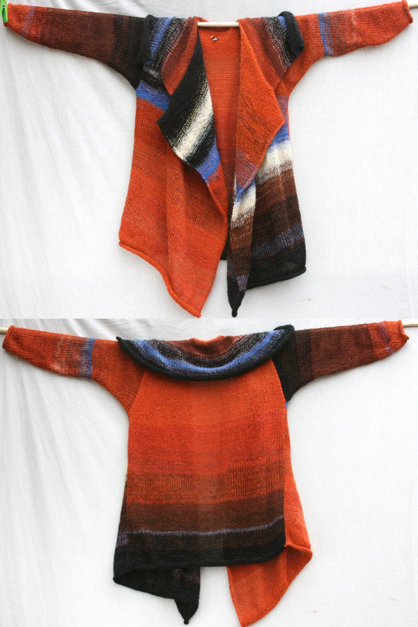 Butterfly Annie Cardigan Coat Wrapture by Inese