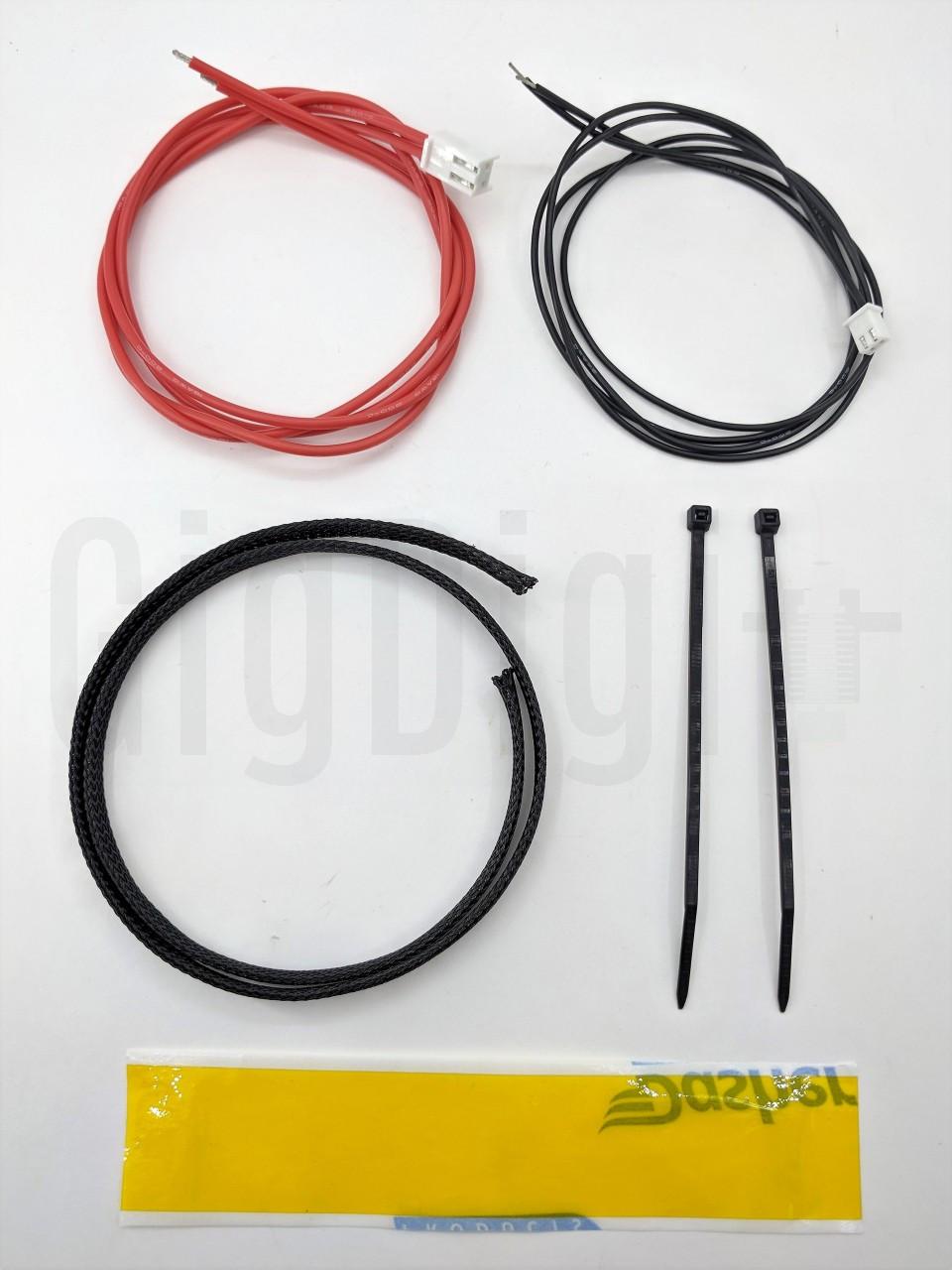Heat Bed Rewire Kit - Silicone Wire - MP Select Mini
