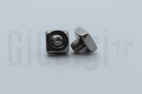 Square Nut with Set Screw - MP Select Mini V1 - MP Mini Delta - Malyan M200 (Qty 2)