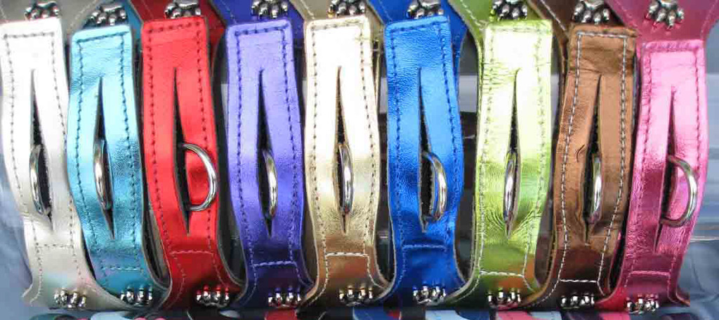 Metallic Platinum (MPL), Turquoise (MTU), Red (MRD), Purple (MPU), Gold (MGO), Blue (MBL), Lime Green (MLG), Bronze (MBR), Hot Pink (MHP). Please note that the Metallic and Non-Metallic are single ply leather that is finished on the top side and has the unfinished suede look on the back side.
