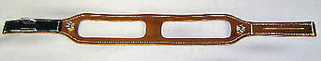ChokeFree™ METALLIC Leather Shoulder Collar (Harness)