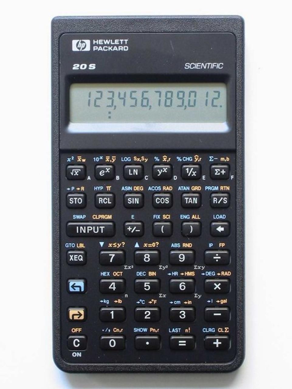 Hp 20s Scientific Calculator Porter Electronics