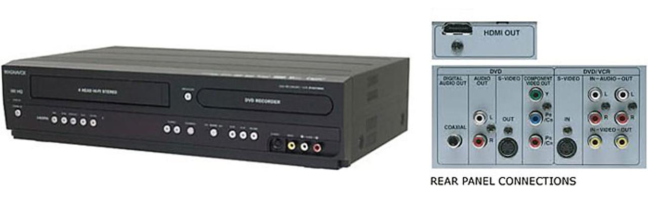 magnavox zv427mg9 dvd recorder vcr combo porter electronics rh porterelectronics com