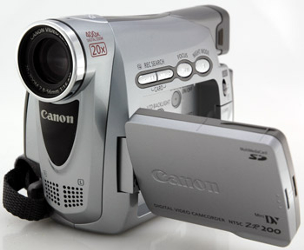 canon zr200 minidv camcorder w 20x optical zoom porter electronics rh porterelectronics com Canon ZR80 Camcorder Digital Canon ZR200 Memory Card