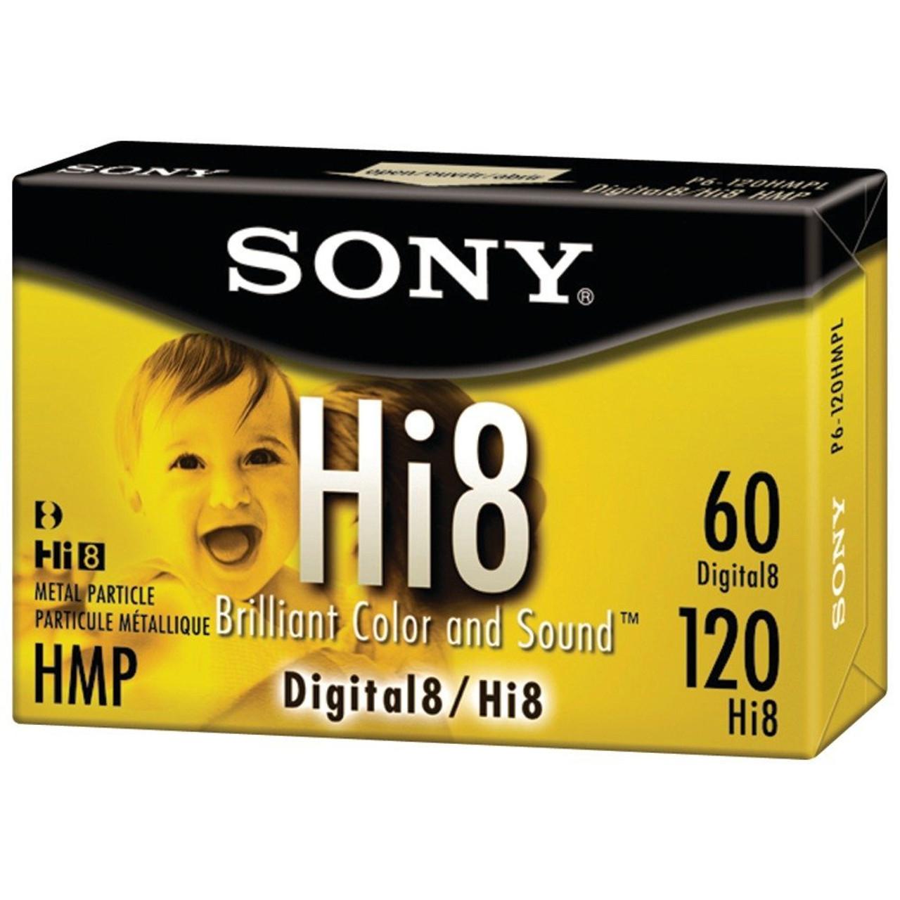 Sony 120 minute Hi8 1-Pack