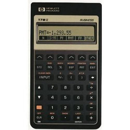 HP-17BII Financial Calculator - Porter Electronics