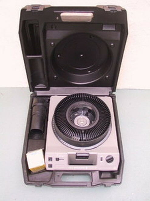 Kodak Carousel Slide Projector Hard Tiffen Case - Projector Not Included