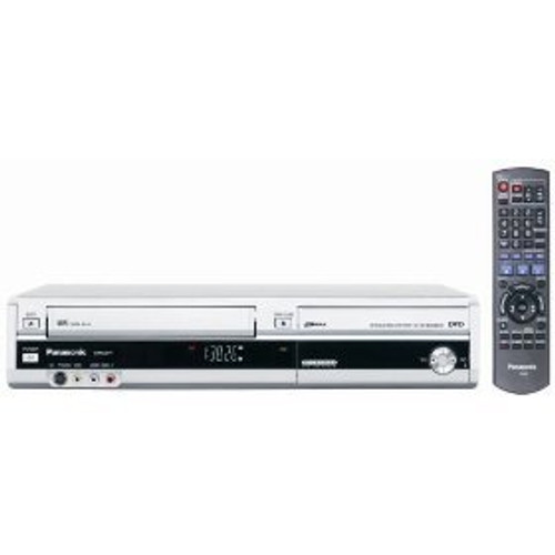 Panasonic DMR-EZ37VS DVD-Recorder/VCR Combo with ATSC Tuner