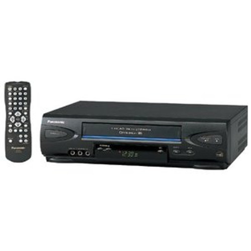 Panasonic PV V4522 4‑head VCR ‑ Black