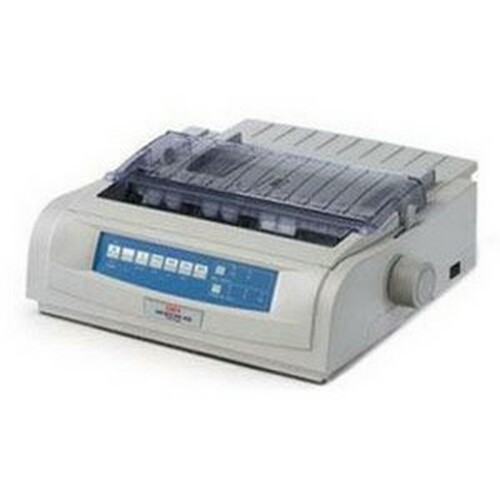 OKI Microline 420 Personal Printer - Dot-Matrix - 9 pin - Monochrome
